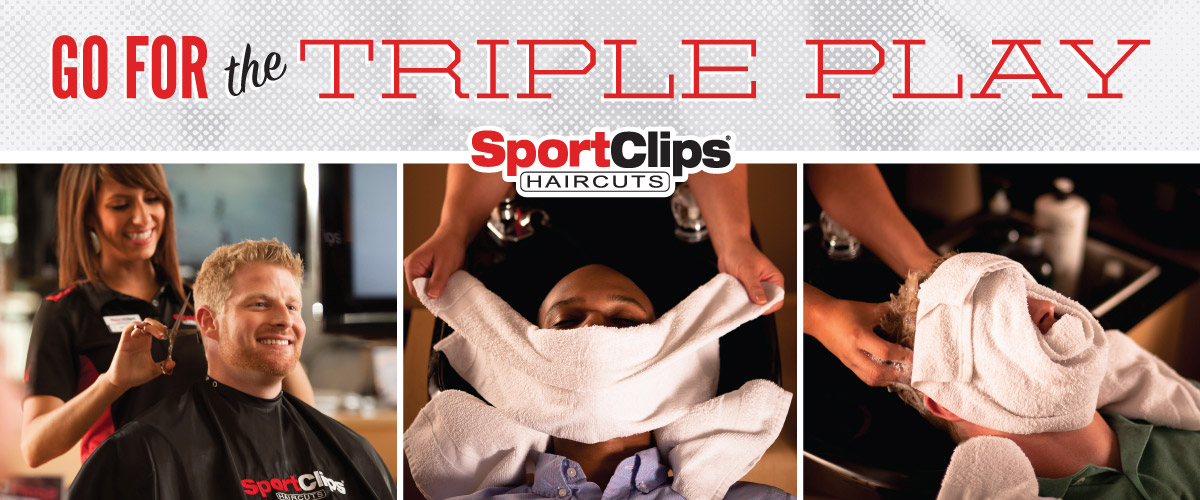 The Sport Clips Haircuts of Arcadia Triple Play